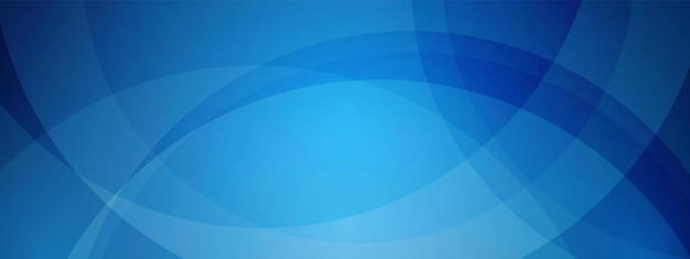 Blue technology wave design overlapping circle digital network background communication concept