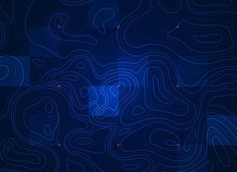 Blue terrain