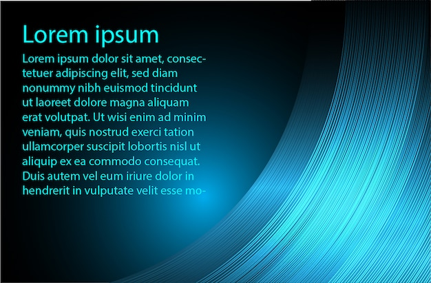Blue text abstract background
