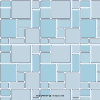 Blue tiled floor background
