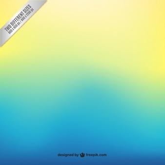 파란색에서 노란색 그라데이션 배경