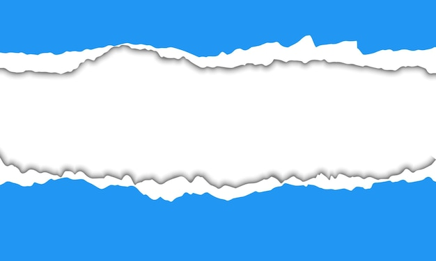 Blue torn paper background. best design for your business.