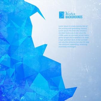 Blue triangle.