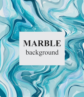 Blue turquoise marble background
