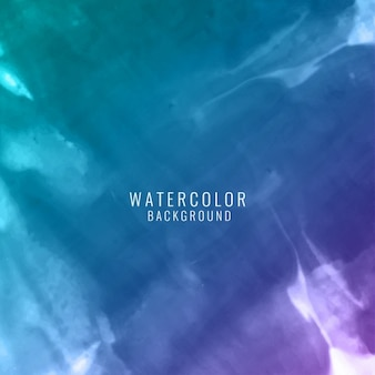 Blue and violet background with watercolor texture