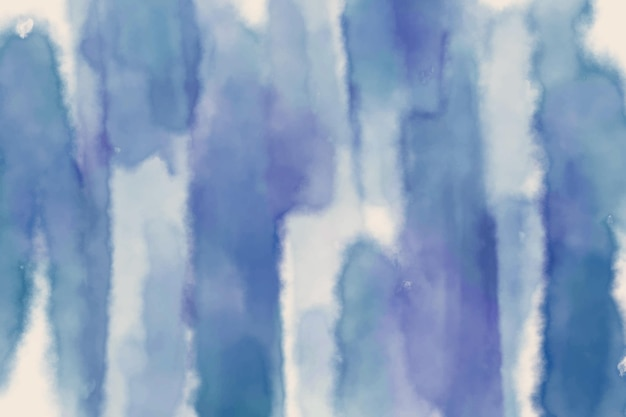 青い水彩の抽象的な背景
