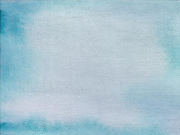 青い水彩画の抽象画
