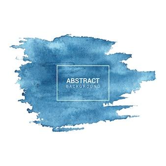 青い水彩抽象的なテクスチャ背景