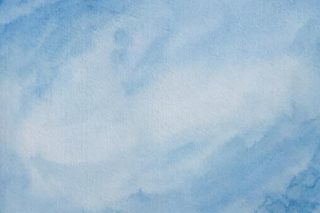 Синий акварельный фон текстуры
