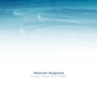 Blue watercolor elegant background