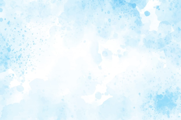 Blue watercolor splash background eps10 vectors illustration
