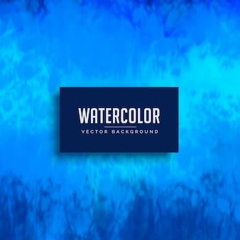 Синяя акварель пятно фоновой текстуры