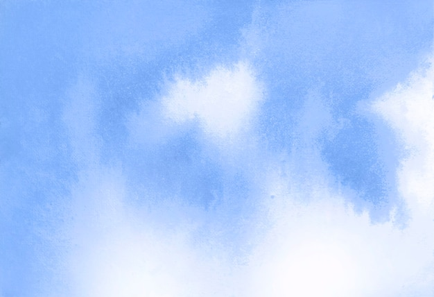 Blue watercolor texture abstract background