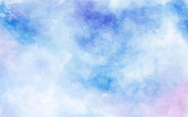 블루 수채화 텍스처