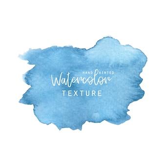 Синяя акварельная текстура