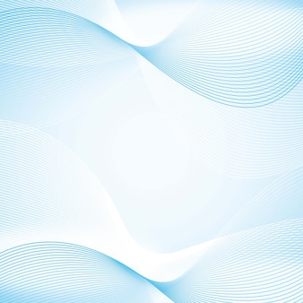 Blue wave background with space for copy vector illustration
