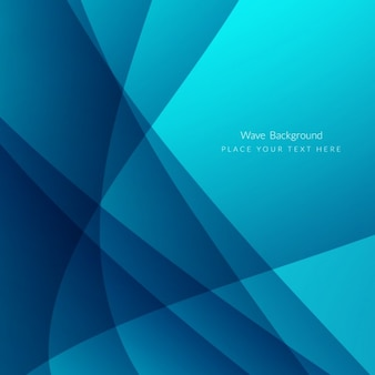 Blue waves abstract background