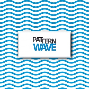 Blue waves pattern design