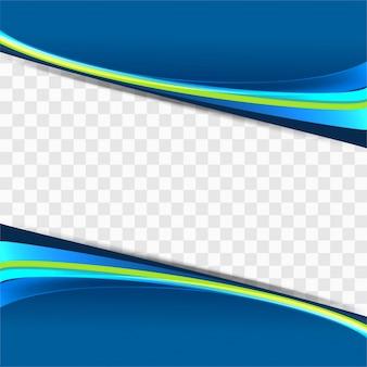 Sfondo colorato d'onda
