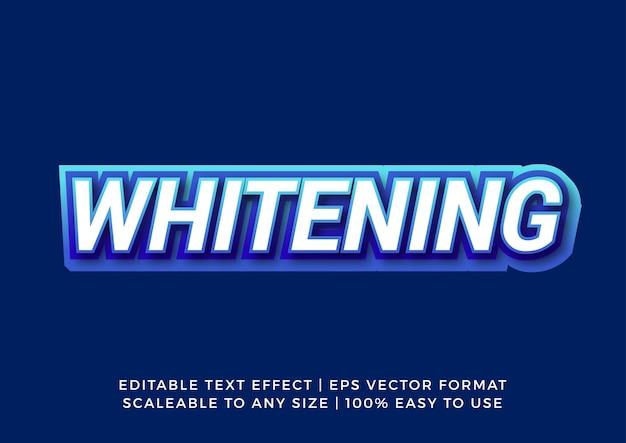 Синий белый жирный современный текстовый эффект