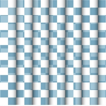 Blue and white checkered backgrouns