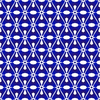 Blue and white pattern japanese and chinese style, porcelain seamless background