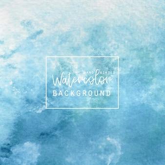 Acquerello sfondo blu e bianco Vettore gratuito