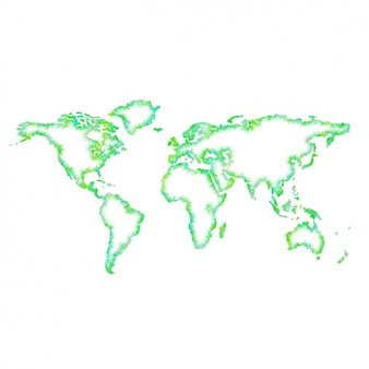 Синий дизайн карта мира