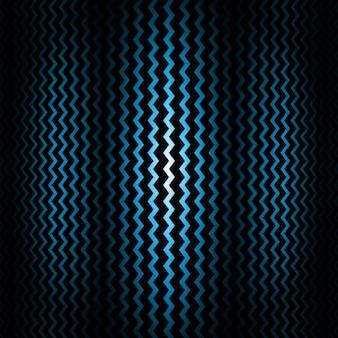 Blue zigzag background