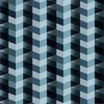 Фон синий зигзагообразные линии.