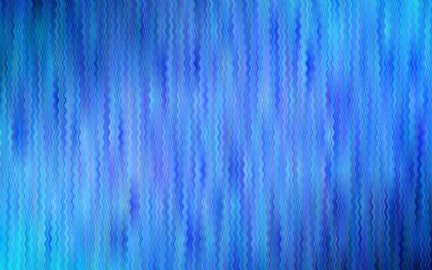 湾曲したリボン付きライトblueベクトルの背景