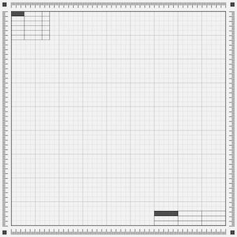Blueprint grey background. vector illustration