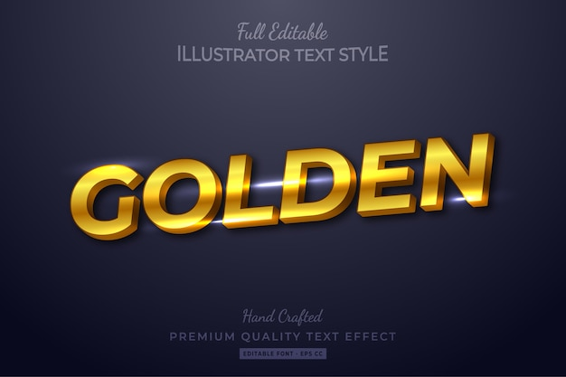 Blues modern editable  text style effect