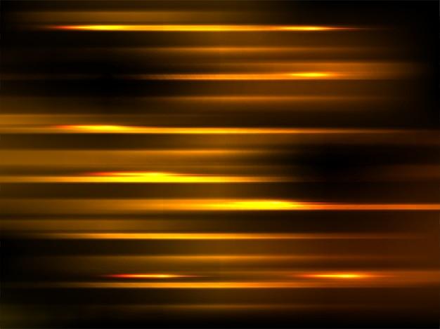 ゴールデンbluredモーションエフェクト、抽象的な背景。