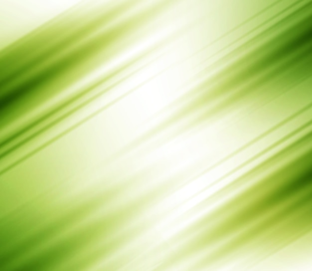 Blurred abstract background with stripes, green color