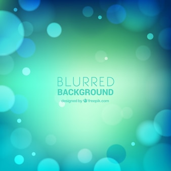 Blurred background in blue tones