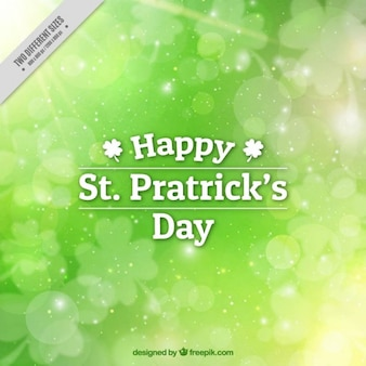 Blurred background for st patrick's day