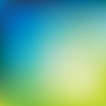 Blurred background, green and blue color