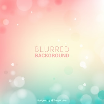 Blurred background in pastel colors