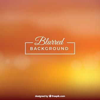 Blurred background in orange tones