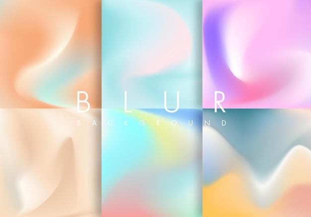Blurred background set