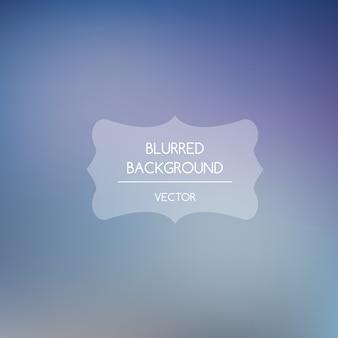 Blurred background, soft blue tones