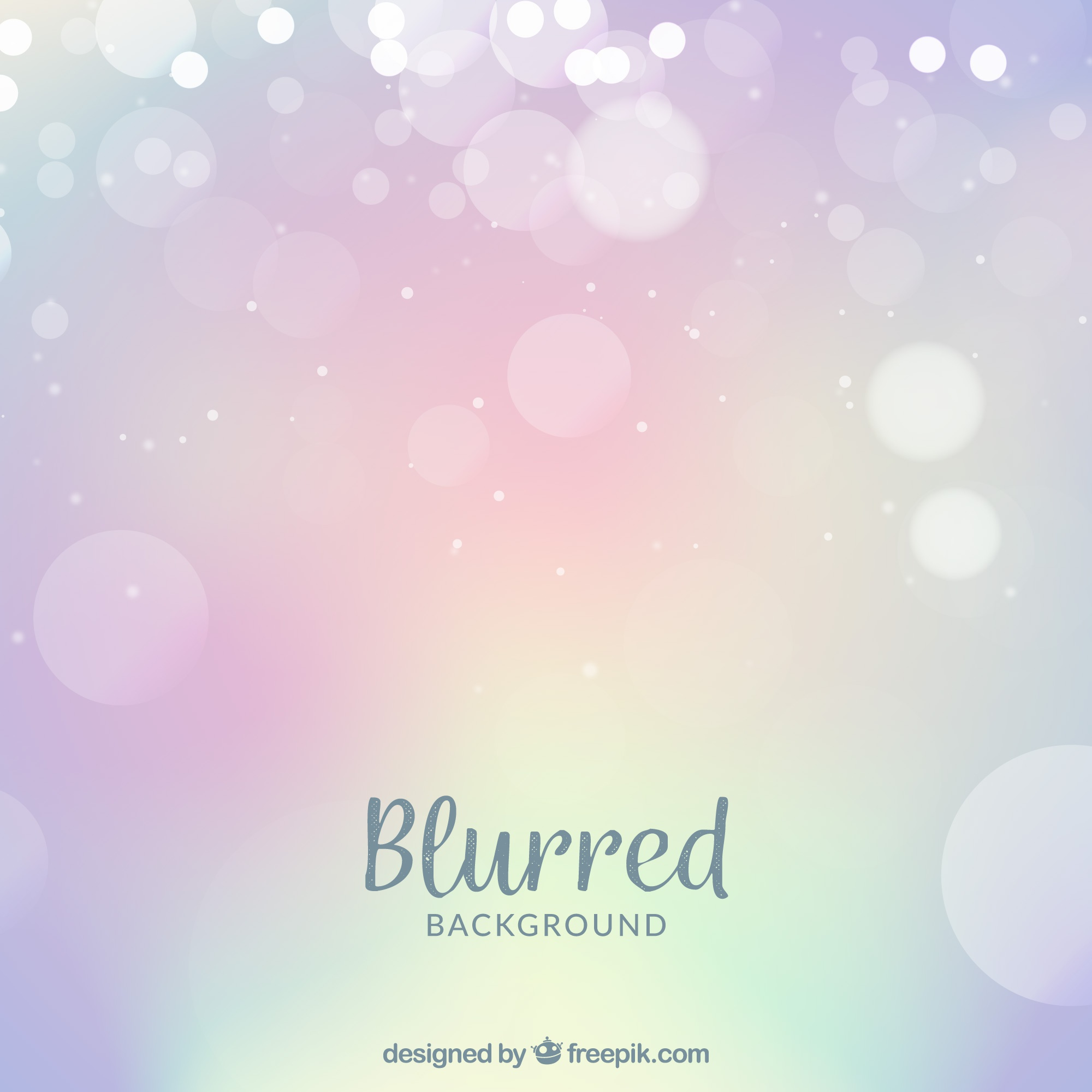Blurred background with bright color