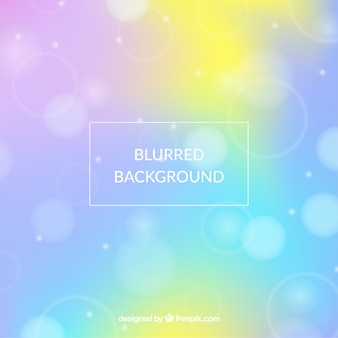 Blurred background with colors