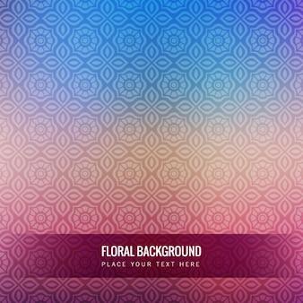 Colorful vettore sfondo floreale