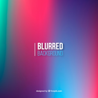 Blurred background with gradient colors