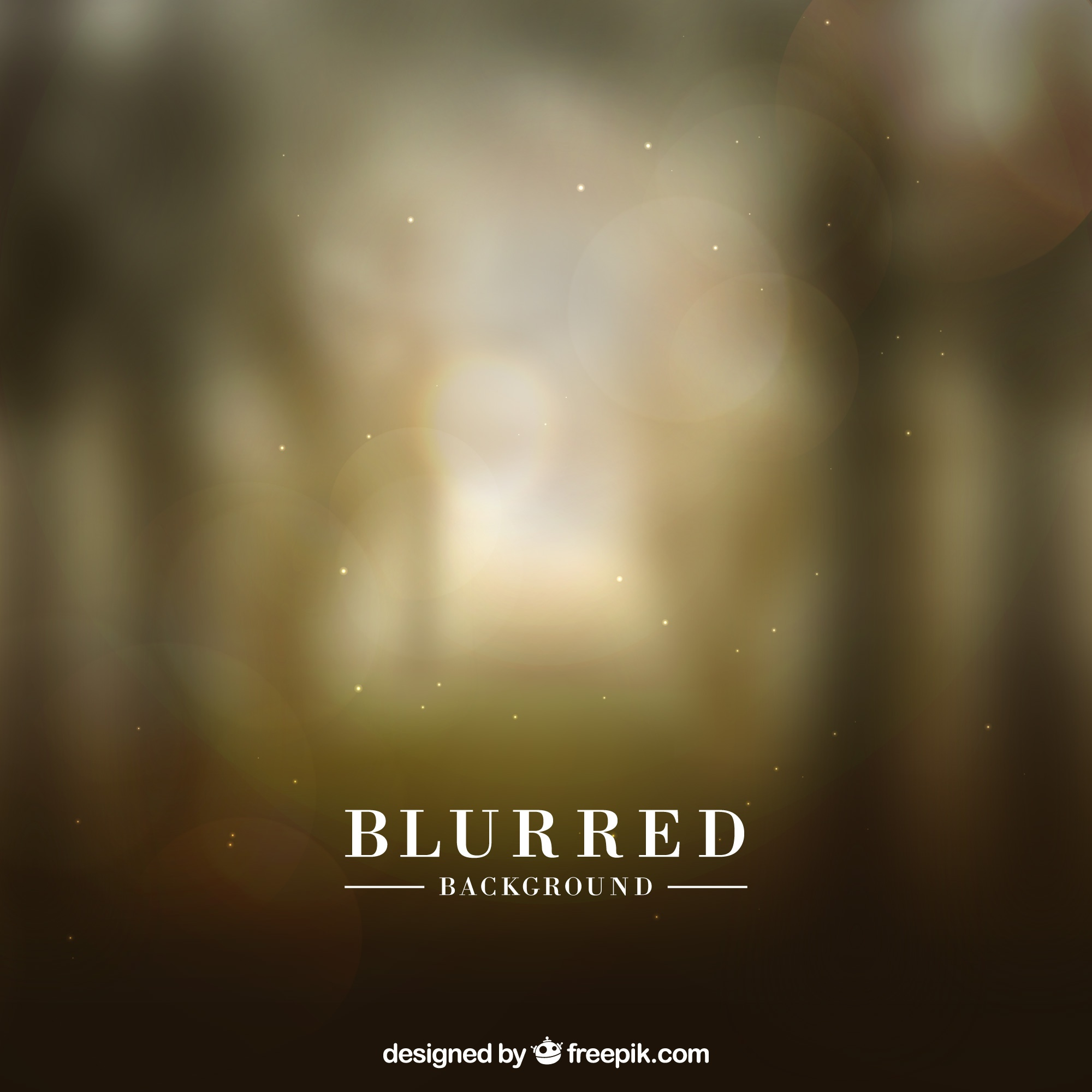 Blurred background with light