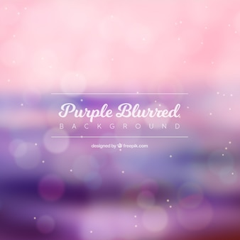 Blurred bokeh background with purple tones