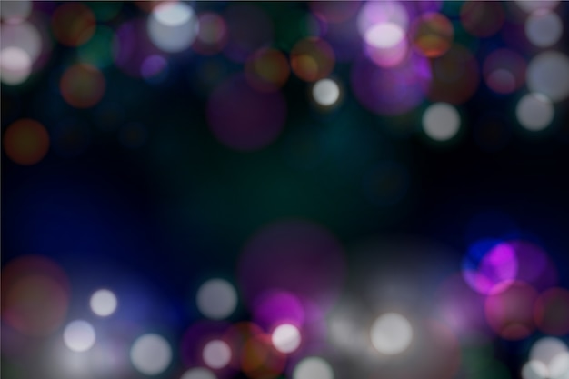 Blurred bokeh background
