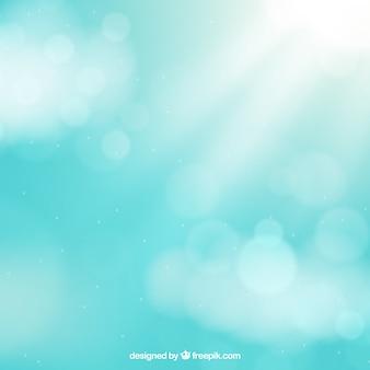 Blurred bokeh sky background